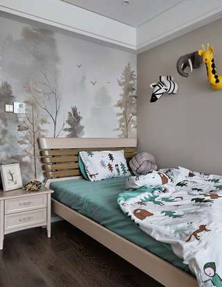 135平米现代风格儿童房装修效果图