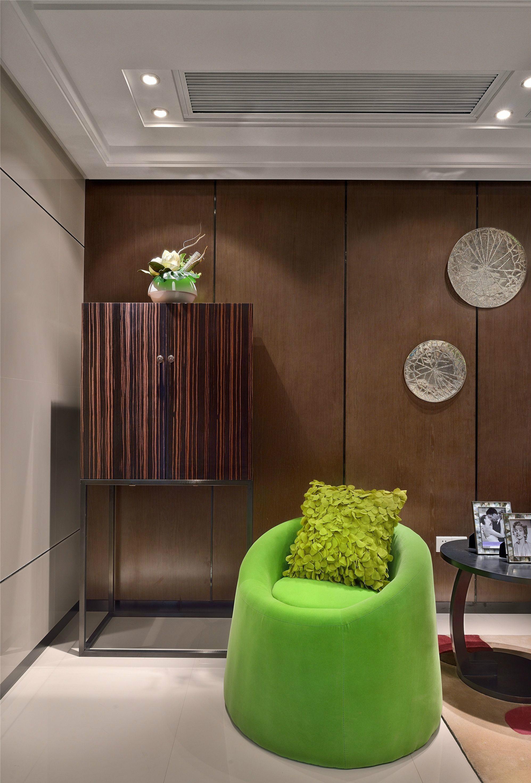 后现代风格三居室装修客厅一角