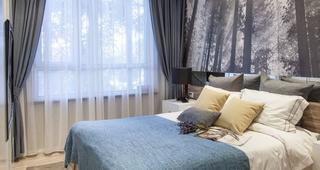 二居室北欧风卧室每日首存送20