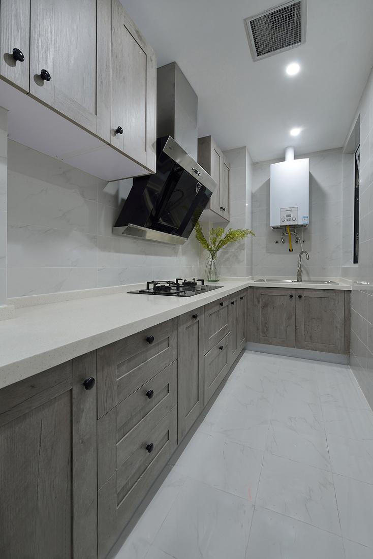 美式风格两居厨房装修效果图