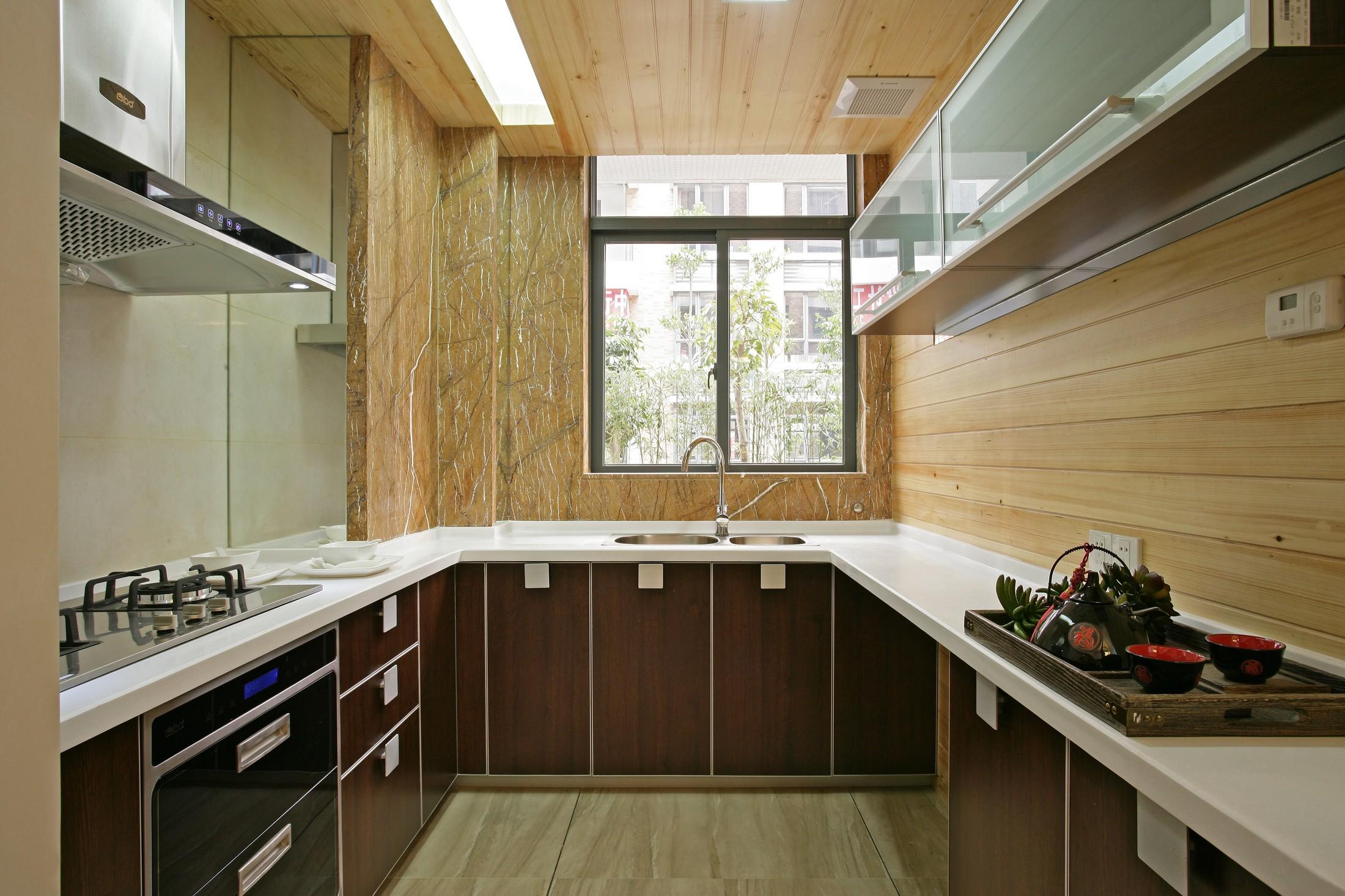 三居室中式风格厨房装修效果图