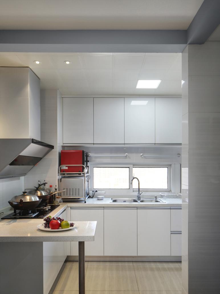 100㎡现代风格厨房装修效果图