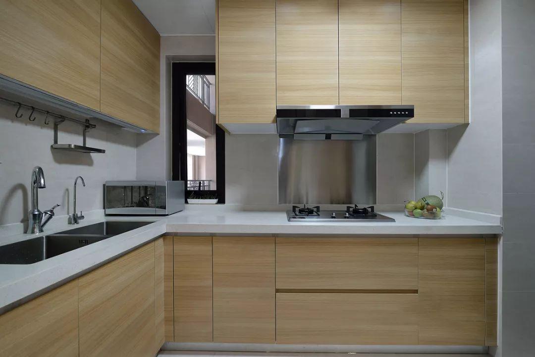 96平米新中式厨房装修效果图