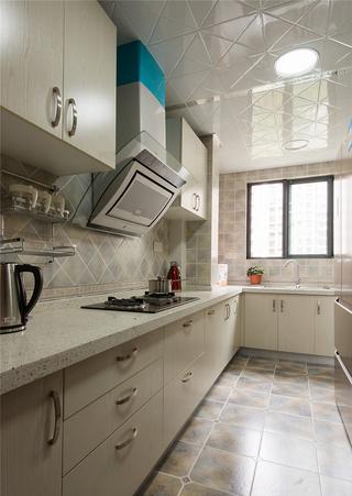 130平米新中式厨房装修效果图