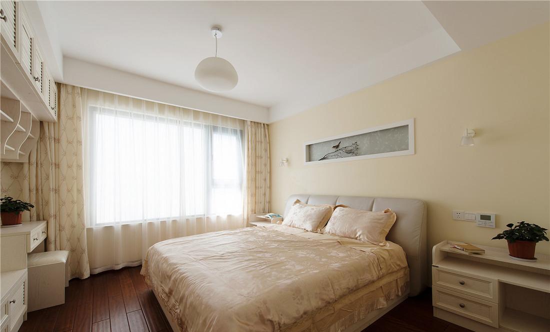 130平米新中式卧室装修效果图