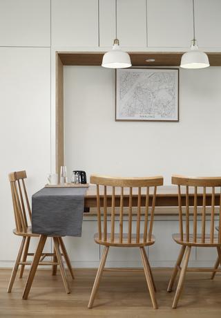复式北欧风格餐厅装修效果图