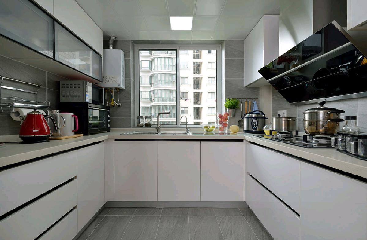 120平米三居室厨房装修效果图