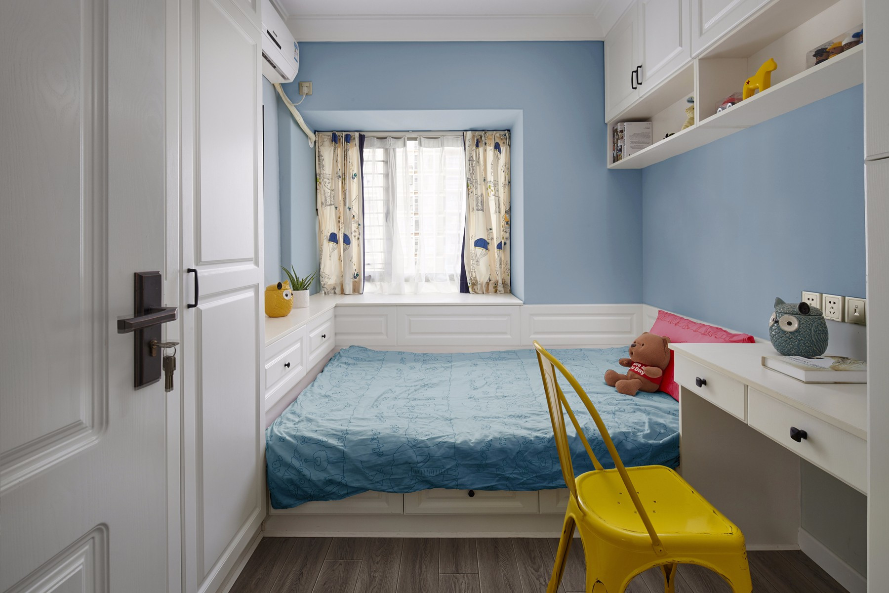 二居室简美风格儿童房装修效果图