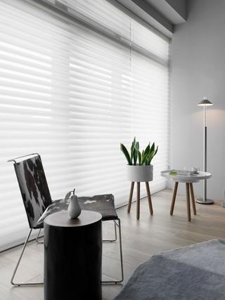 170平现代三居室窗帘装修效果图