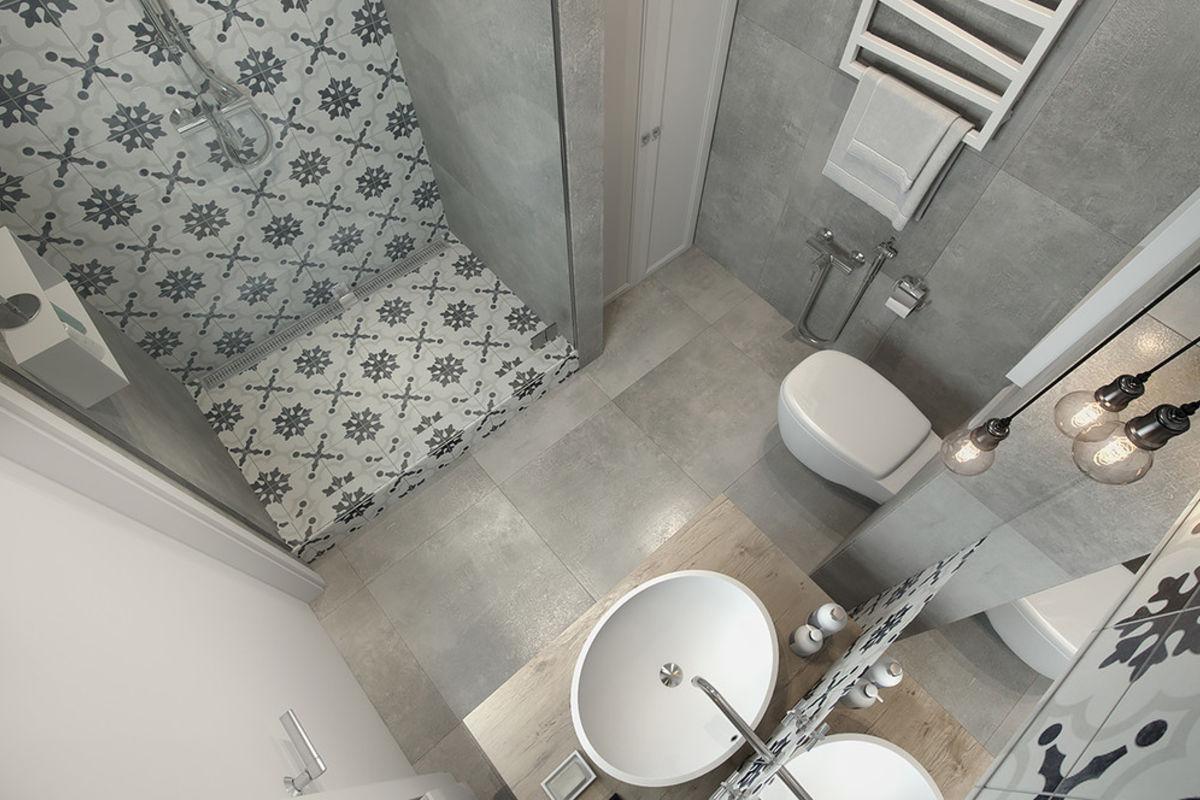 30平米公寓卫生间装修效果图