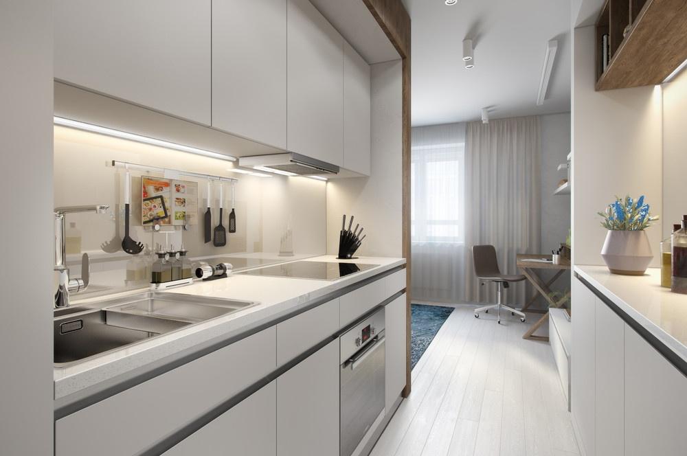 30平米公寓厨房装修效果图