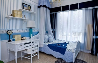 三居室地中海风格儿童房每日首存送20