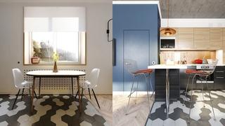 小户型二居室公寓厨餐厅装修效果图