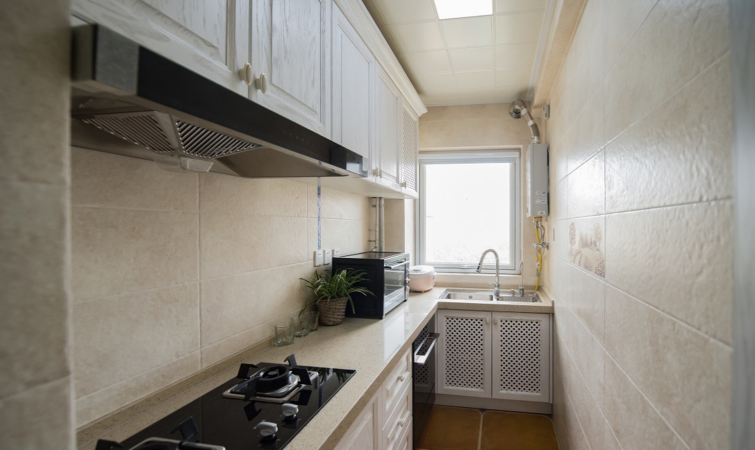 87平米小三居厨房装修效果图