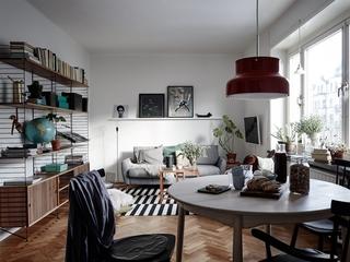 52㎡北欧风公寓装修效果图