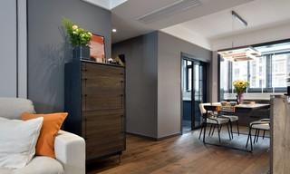 现代简约风格两居室装修五斗柜设计图