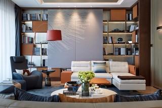 后现代奢华样板房装修效果图