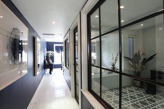 大户型后现代混搭走廊装修效果图