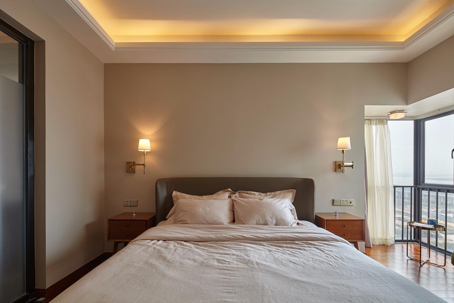 185平米混搭风格卧室装修效果图
