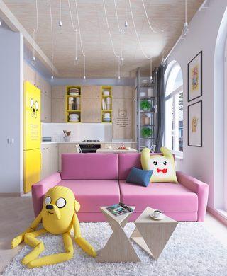 35㎡小户型公寓装修效果图