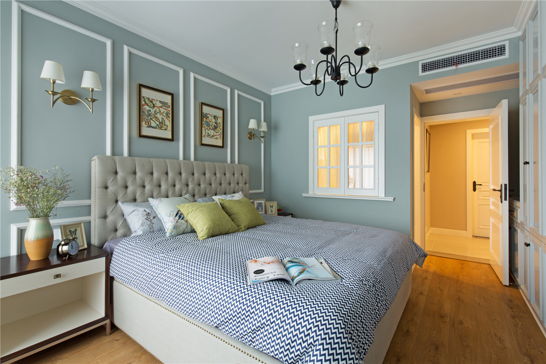 150㎡美式风格卧室装修效果图