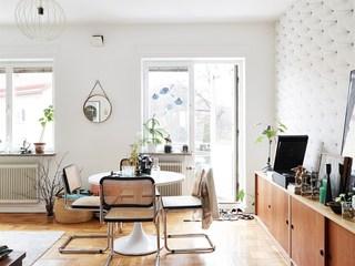小户型北欧风格公寓餐厅装修效果图