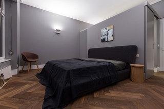 大户型极简风公寓卧室装修效果图