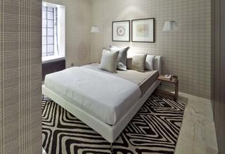 大户型样板间卧室装修布置图