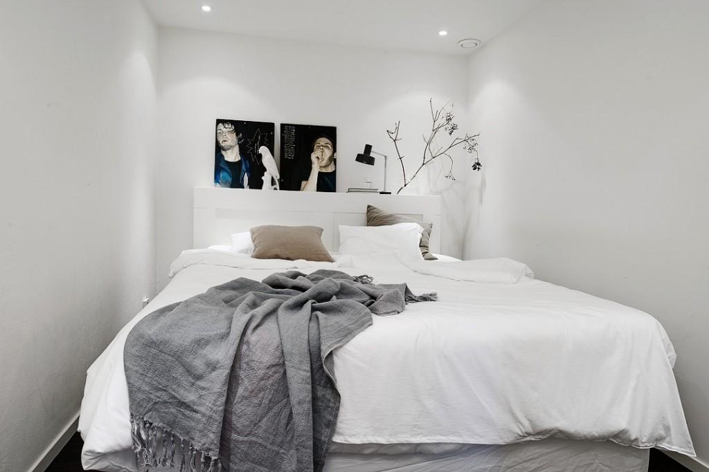 北欧风公寓卧室装修效果图