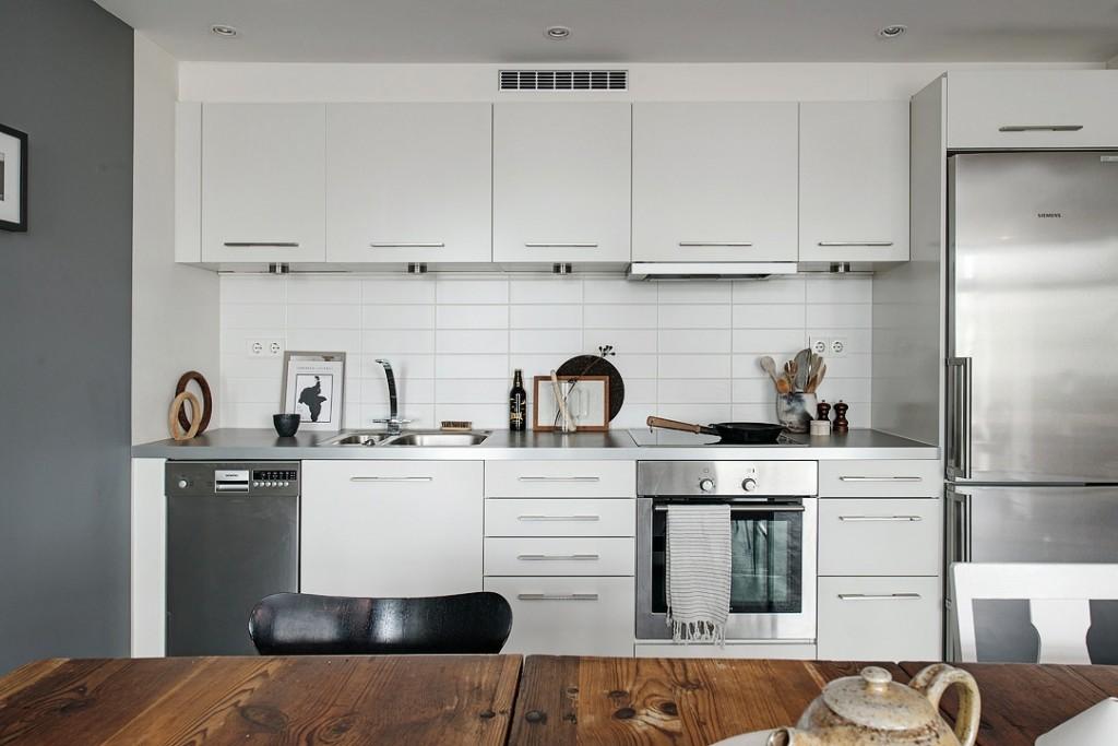 北欧风公寓厨房装修效果图