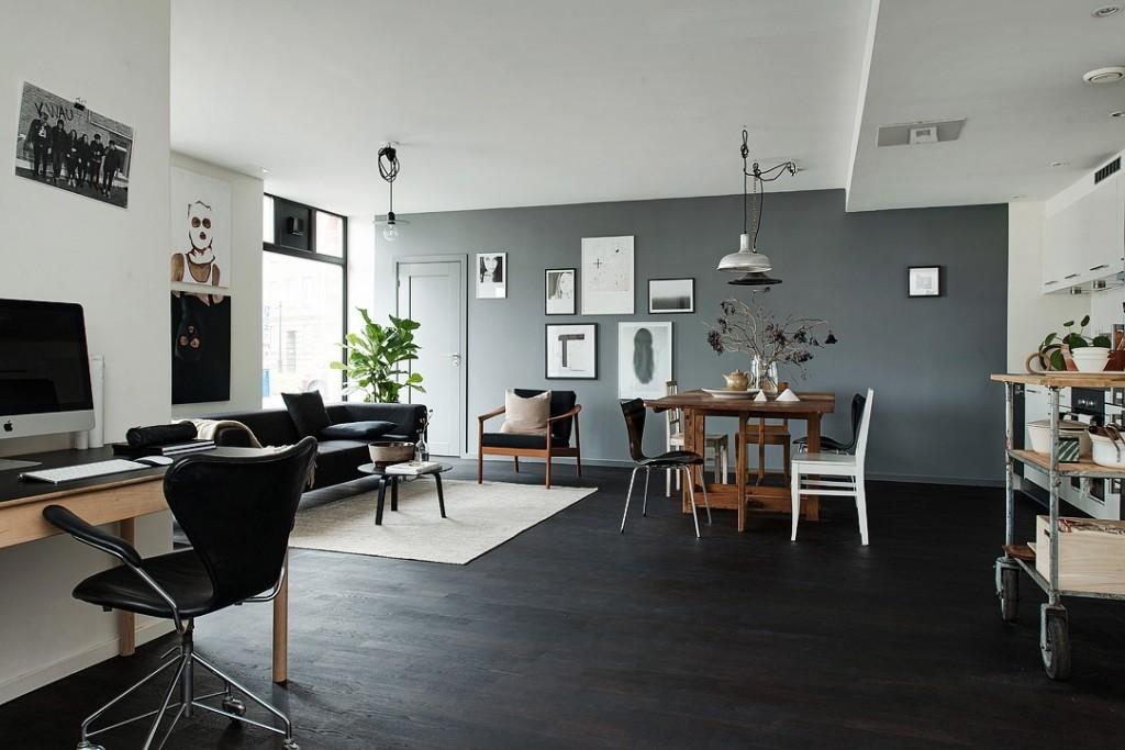 北欧风公寓客餐厅装修效果图