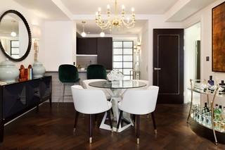 优雅英式公寓餐厅装修效果图