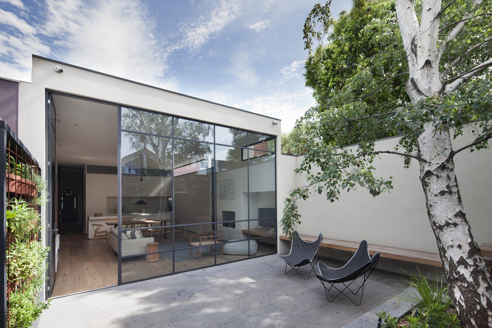 极简风格别墅庭院装修设计图