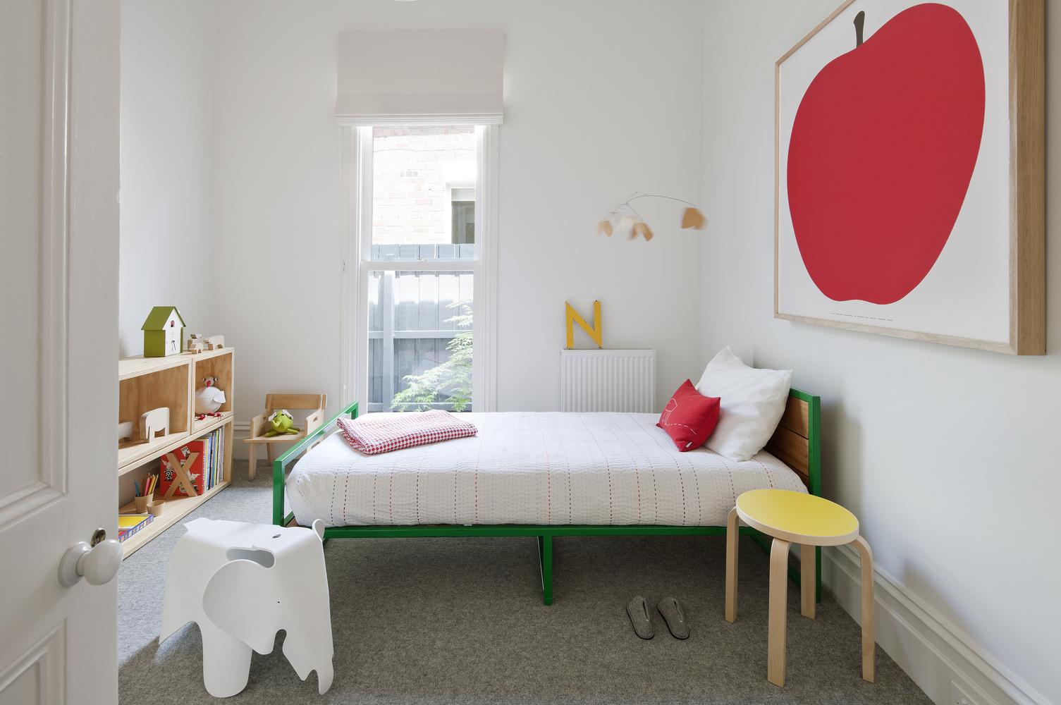 极简风格别墅儿童房装修设计图
