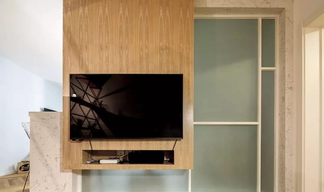 两居室北欧风电视墙装修效果图