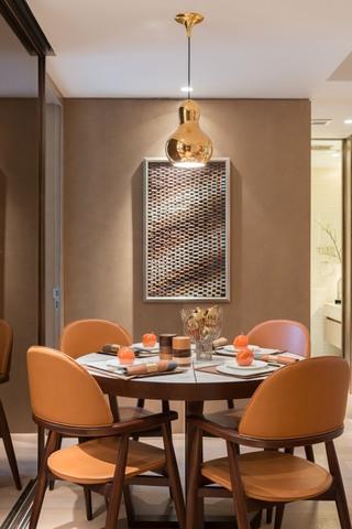 现代简约风二居餐厅装修效果图