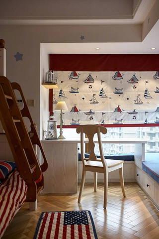 三居室地中海风格儿童房装修效果图