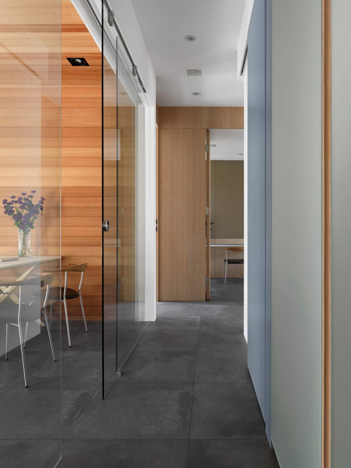 现代公寓过道装修设计效果图