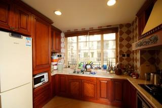 东南亚风格别墅厨房装修效果图