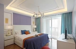 大户型法式风格卧室装修设计图