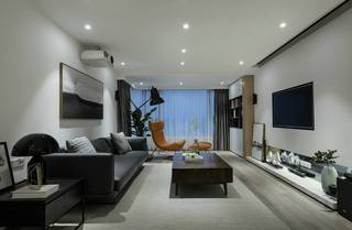 简约现代风格三居装修效果图