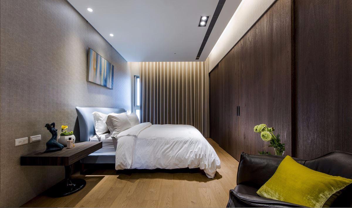118㎡现代风格卧室装修效果图