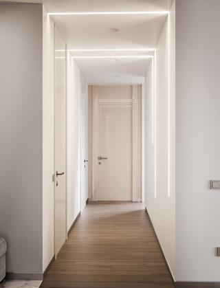 92㎡简约公寓走廊装修效果图
