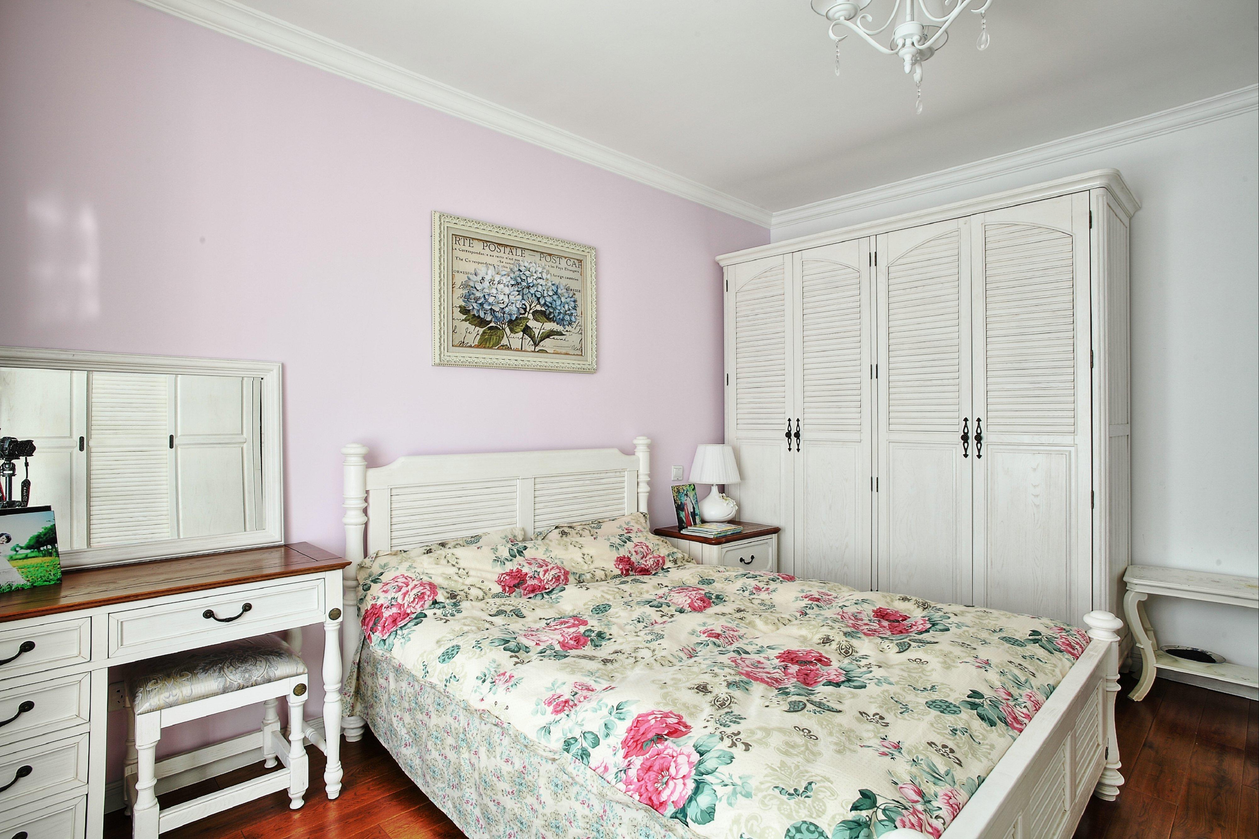 128平美式风格卧室装修效果图