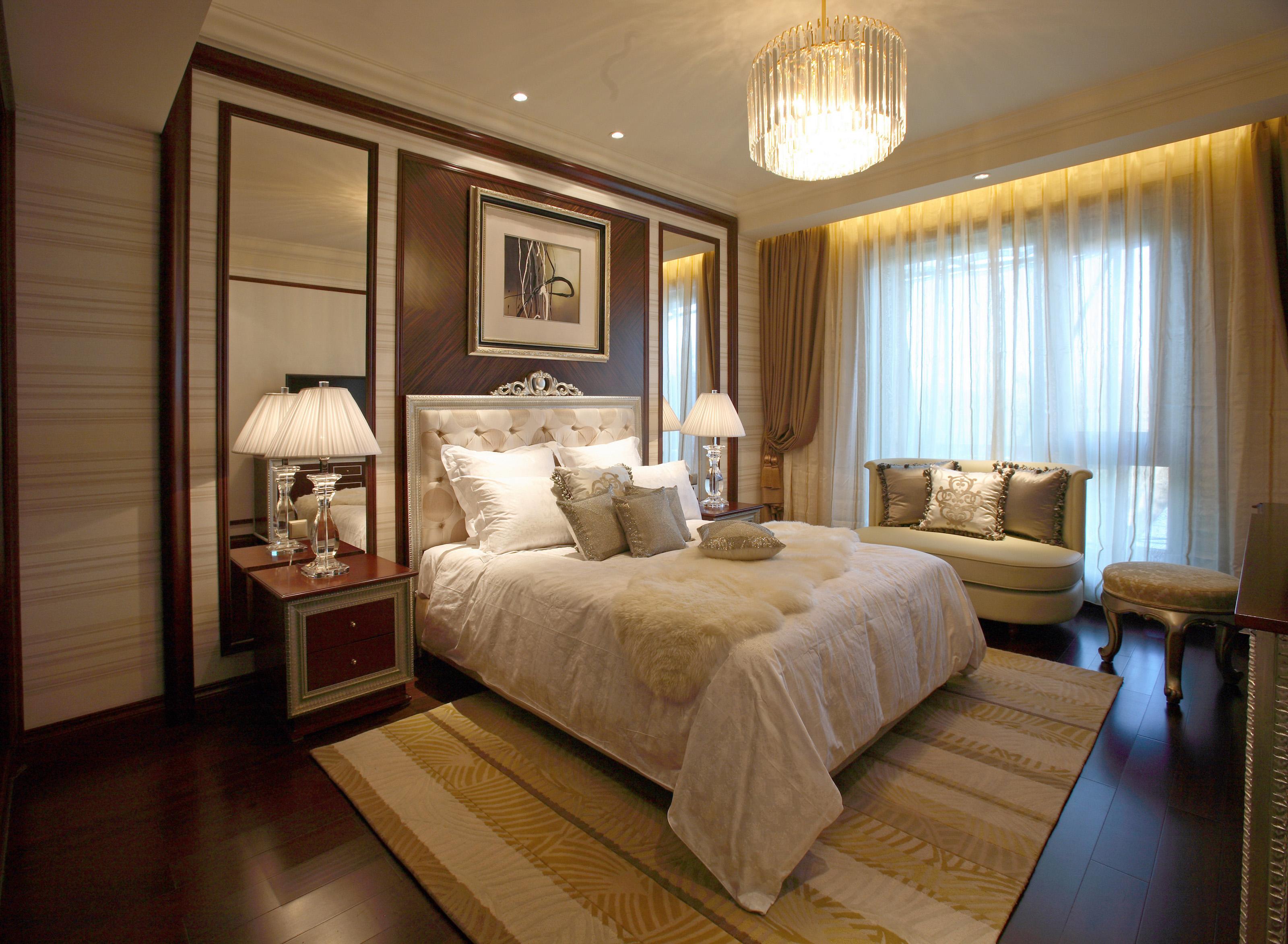 豪华古典欧式风格卧室装修效果图