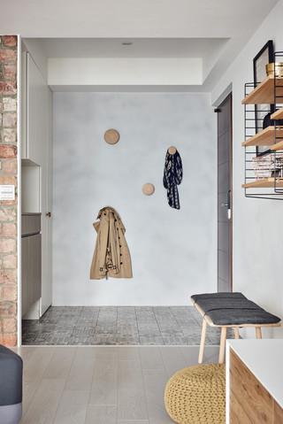 大户型北欧风格玄关装修设计效果图