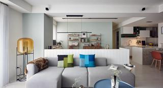 大户型北欧风格装修沙发设计效果图