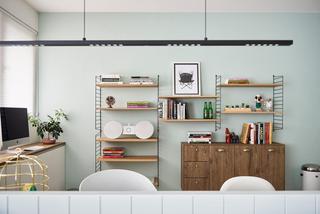 大户型北欧风格书房装修设计效果图
