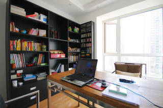混搭风格三居书房装修效果图