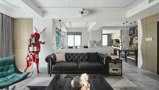 混搭风格三居装修沙发设计图
